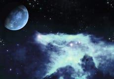 błękit lodu przestrzeń Fotografia Stock