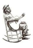 błękit mężczyzna ilustracji