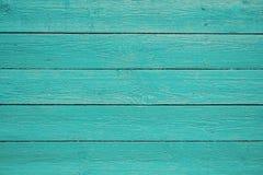 Błękit malująca drewniana deski tła tekstura Obraz Royalty Free
