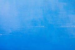 błękit malująca tekstura Obrazy Stock