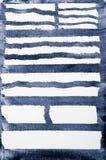 Błękit malujący pasiasty tło Obrazy Royalty Free
