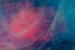 Błękit menchii chmury atrament Zdjęcie Royalty Free