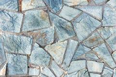 Błękit mozaiki Dachówkowa tekstura zdjęcia stock