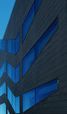 Błękit na okno Obrazy Stock