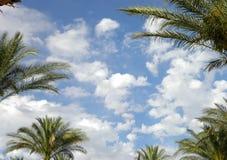 błękit nieba chmury tła Obraz Stock