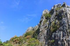 błękit niebo krajobrazowy halny Obraz Stock