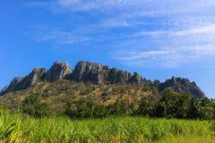 błękit niebo krajobrazowy halny Zdjęcia Stock