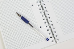 błękit ołówek obrazy royalty free