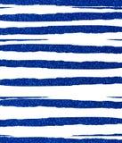 Błękit obszarpujący, nierówni glittery lampasy Zdjęcia Stock