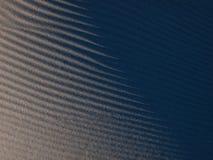 Błękit ocienia na Białych piasek diunach w Afryka Zdjęcia Stock
