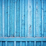 błękit ogrodzenie Fotografia Stock