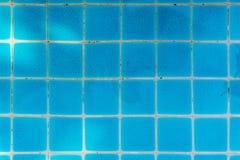 Błękit płytka Pływacki basen Zdjęcia Royalty Free