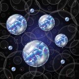 Błękitne perły Zdjęcie Stock