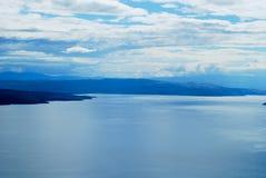 Błękit piękny Chorwacki morze Zdjęcie Stock
