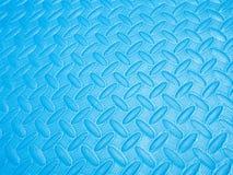 Błękit piany non ślizgania tło i tekstura Obrazy Royalty Free