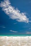Błękit Plaża Fotografia Stock