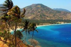 Błękit plaża Zdjęcie Royalty Free