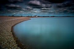 Błękit plaża Obrazy Royalty Free