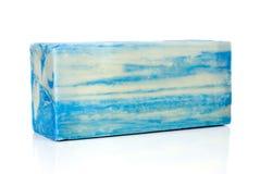 błękit prętowy mydło Fotografia Royalty Free