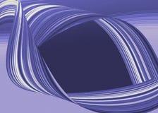 błękit przepływ Obraz Royalty Free