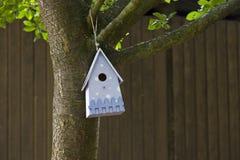 błękit ptasi dom Obrazy Stock