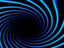 błękit spirala Zdjęcie Royalty Free
