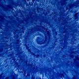 błękit spirala Zdjęcie Stock