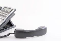 błękit telefon zamknięty biurowy strzelający tonującym tonować Zdjęcia Stock