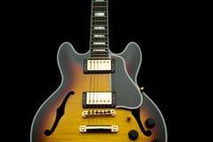 błękit uprawy gitara Obraz Royalty Free