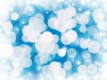 błękit zaświeca zima ilustracja wektor