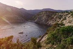 Błękit zatoka Pirat zatoka Obrazy Stock