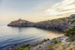 Błękit zatoka Pirat zatoka Obraz Royalty Free