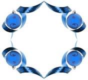 błękit zawijasy rabatowi dekoracyjni robić tasiemkowi Obrazy Stock