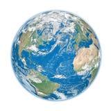 Błękit ziemia ilustracja wektor