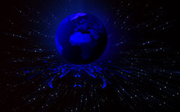 błękit ziemia Obraz Stock