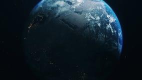 Błękit ziemia w otwartej przestrzeni zbiory