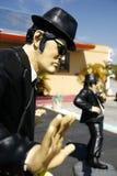 błękita brata statua Obraz Stock
