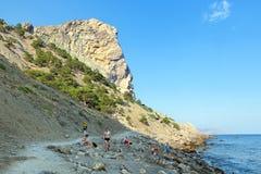 Błękita (drapieżcza) zatoka Zdjęcie Royalty Free