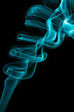 Błękita dym Obraz Stock