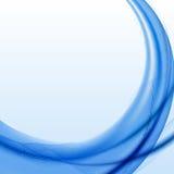 Błękita falowy tło z halftone. Fotografia Royalty Free