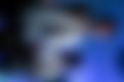 Błękita i czerni plama Obraz Royalty Free