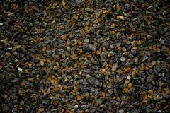 Błękita i koloru żółtego kamieni tekstura Zdjęcia Royalty Free