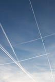 Błękita kwadrat w niebie Fotografia Stock