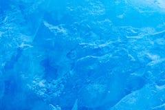 Błękita lodu ściana Błękit góra i lód Zima Arktyczna Biała śnieżna góra, błękitny lodowiec Svalbard, Norwegia Lód w oceanie Góra  Fotografia Royalty Free