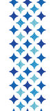 Błękita marmur tafluje vertical rabatowego bezszwowego wzór Obraz Stock
