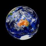 Błękita marmuru planety ziemia Zdjęcia Royalty Free