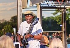 Błękita muzyk Sipp Mississippi błękitów dziecko Fotografia Royalty Free