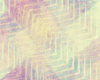 Błękita różowy i biały tło projekt z szewronu lampas ablegrującym wzorem Zdjęcie Royalty Free