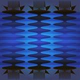 Błękita wzór Zdjęcie Stock