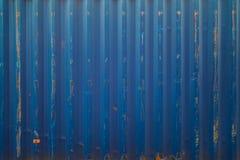 Błękitna ładunku statku zbiornika tekstura Obrazy Royalty Free